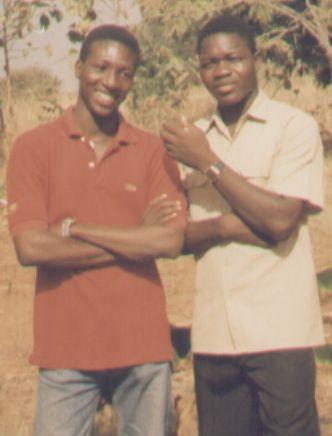 Avec Dr Damien Ouattara à Toussiana en 1998
