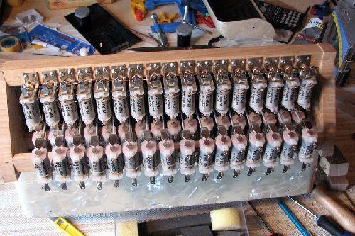 toutes les bobines (49) sont installées