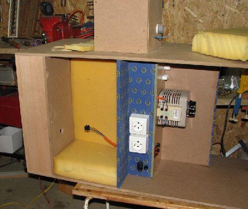Emplacement de la soufflerie / blower room