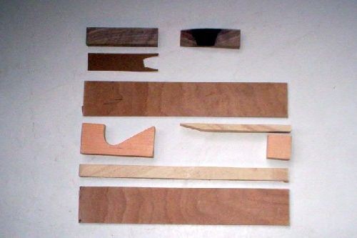 anatomie d\'une flute / pipe anatomy