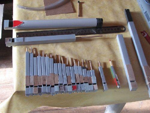Flutes en PVC / PVC pipes