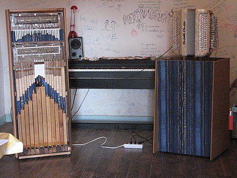 L\'orgue , le piano et l\'accordéon