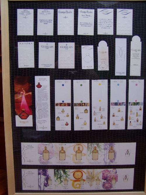 Collection Parfumées Guerlain Buvards Cartes Ma Flacons Et De QdBeWroCx