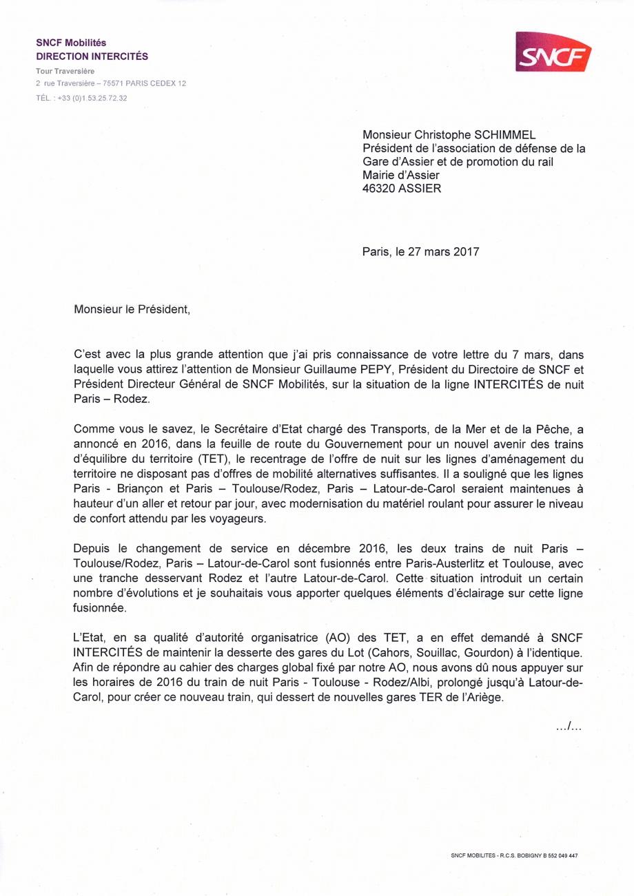 2017-03-27 Réponse SNCF Train de nuit p1.jpg