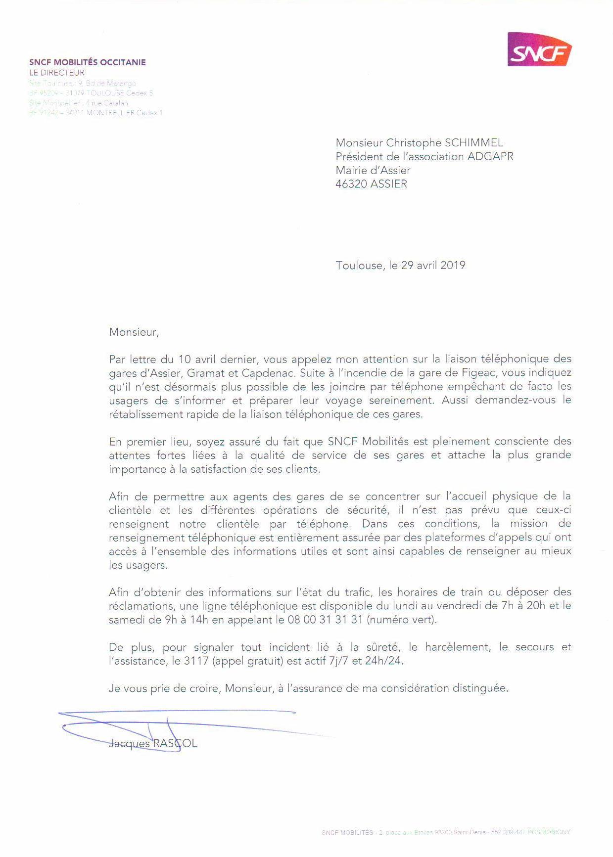 2019-04-29 Réponse Rascol Rétablissement téléphone.jpg