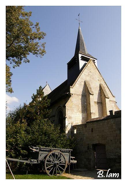 L'Eglise Saint-Jacques et Saint-Jean Baptiste de Folleville