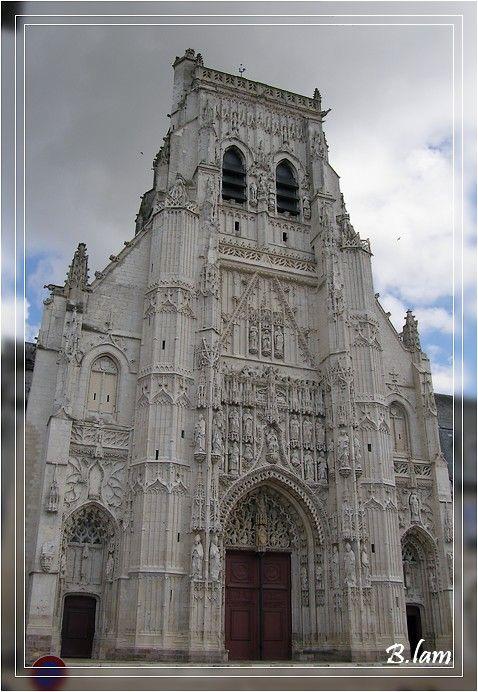 L'abbatiale de Saint-Riquier