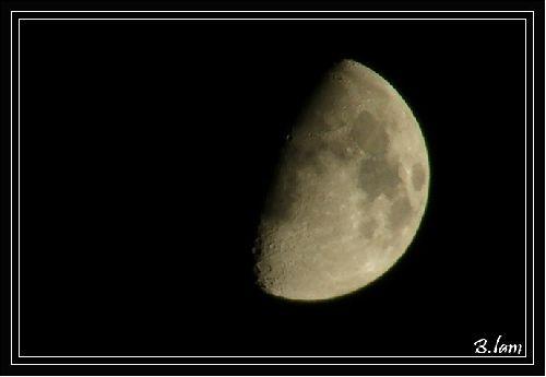 La Lune .. Un soir de décembre (18/12/07)