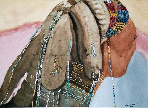 Coiffure Massai
