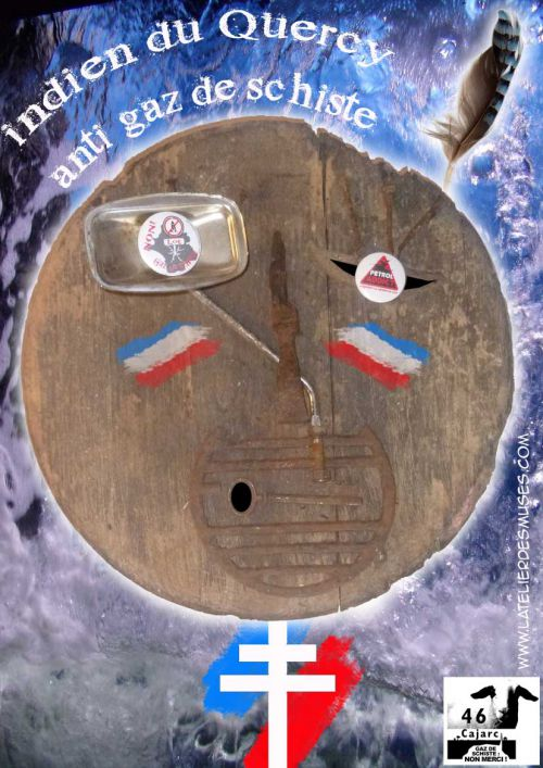 indien du quercy anti gaz de schiste. création Mars 2013
