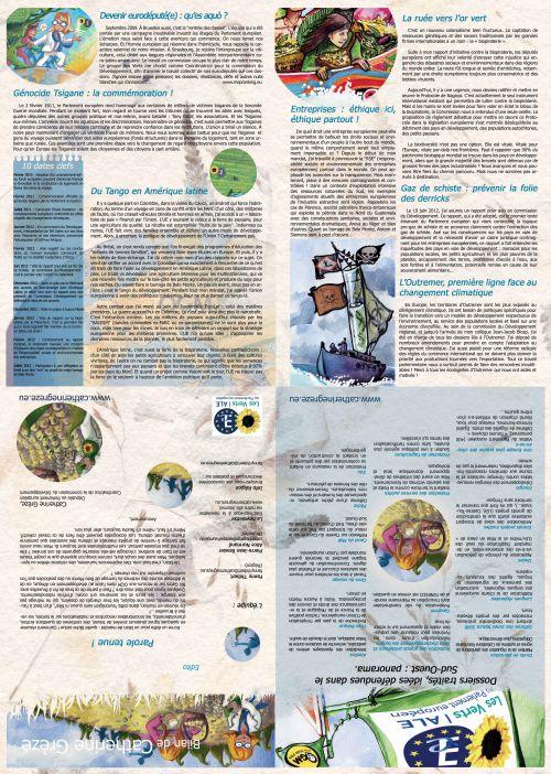 carte poster illustré, PAO, Créations, mise en page du bilan de mandat