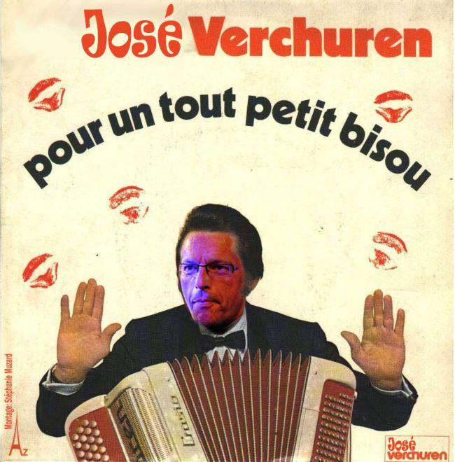 Cadeau fausse pochette de disque vinyl pour José Louyot