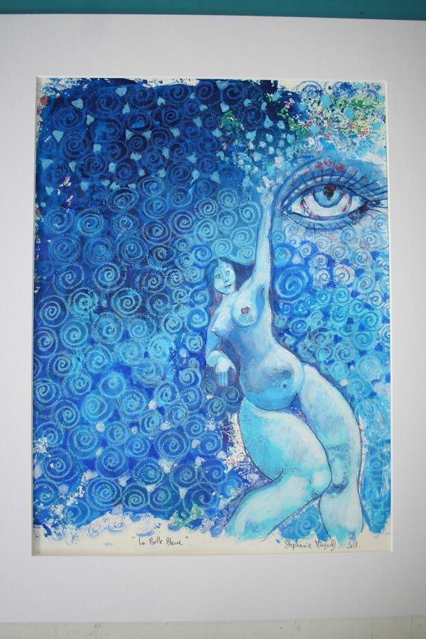 la belle bleue, ou vision matriarcale.  http://www.latelierdesmuses.com/la-belle-bleue-ou-vision-matriarcale