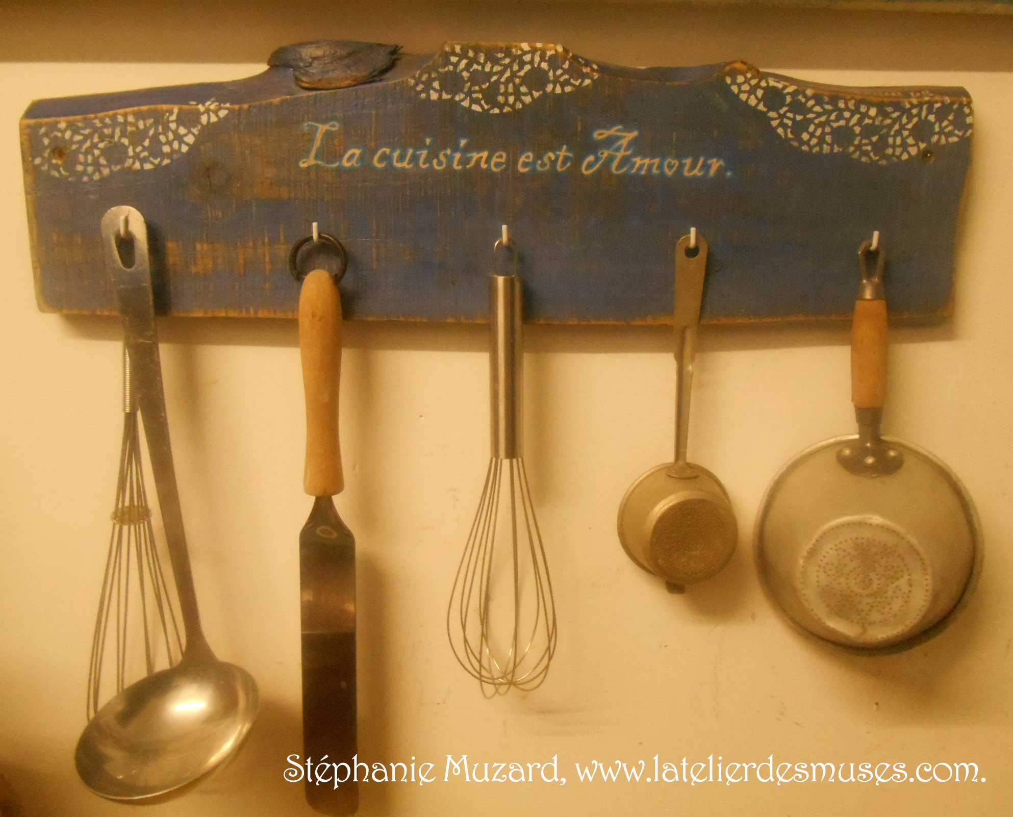 Création d'un porte-ustensiles de cuisine