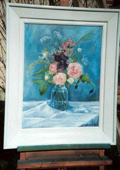 roses et clématites