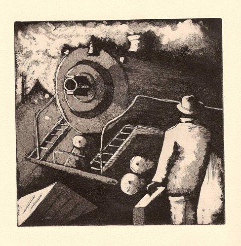 gravure aquateinte 1992