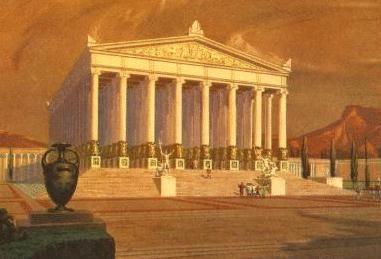 temple d\'artemis à ephèse