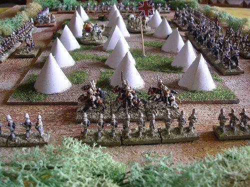le 10 th hussard viens en appui