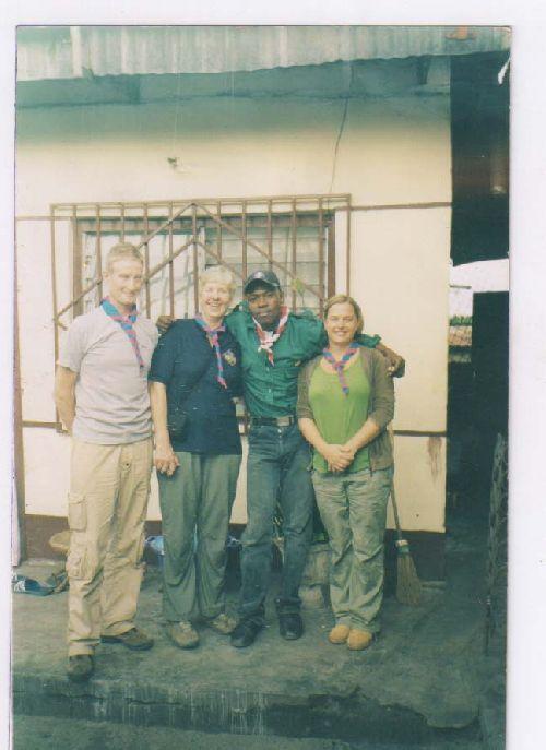 Castor et les Scouts Anglais