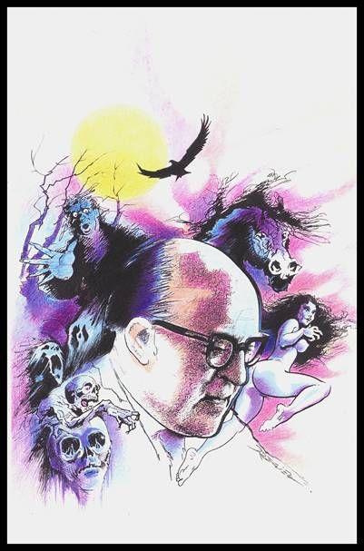 Gérard Prévot  (dessin pour la couverture de la revue Magie Rouge)