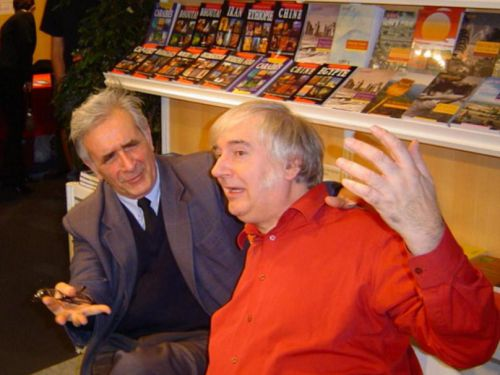 Avec Noël Godin (2007)