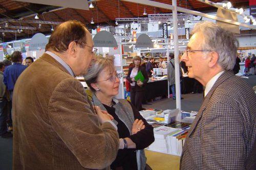 Avec Anne et Jean-Baptiste Baronian