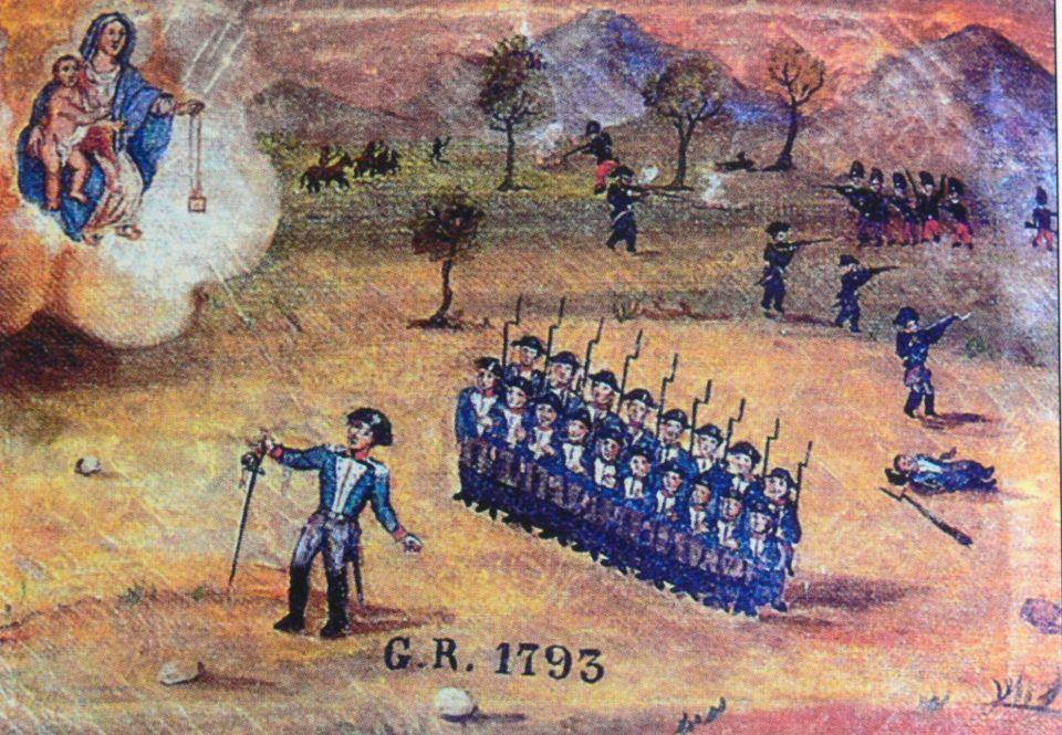 Les Soldats du 18e siècle