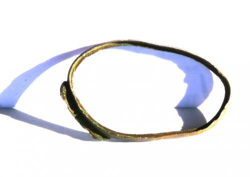 Fragment d'une paire de lunettes