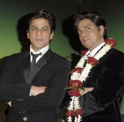 Shahrukh KHAN et sa statue de cire