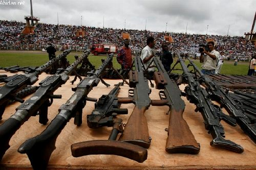 La flamme de la paix en Côte d\'Ivoire