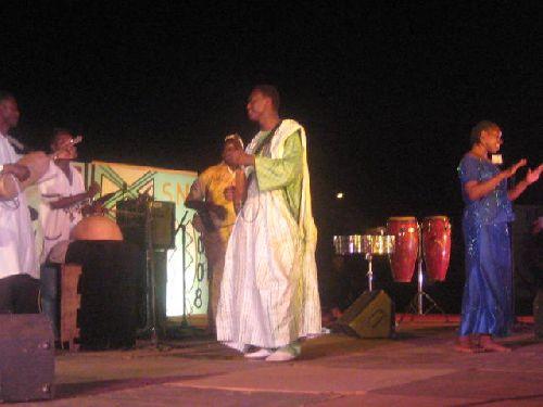 Artiste de la Semaine Nationale de la Culture SNC 2008