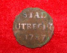 Demi liard UTRECHT 1787