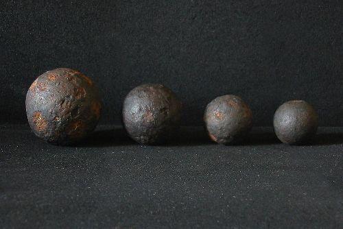 Des biscaiens de différents calibres