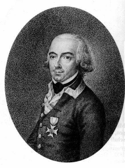 Le lieutenant colonel autrichien Johann Von Chasteler de Courcelles