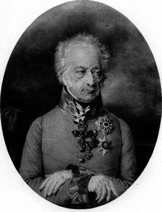 Le général autrichien Heinrich Graf Von Bellegarde