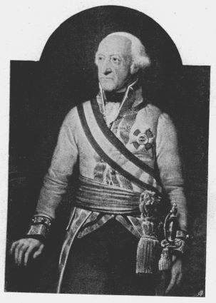 Le Prince autrichien Friedrich Josias de Saxe Cobourg Saalfeld