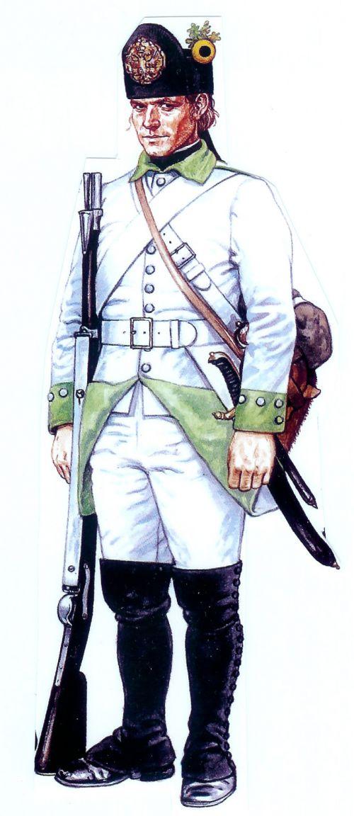 Un fusilier autrichien
