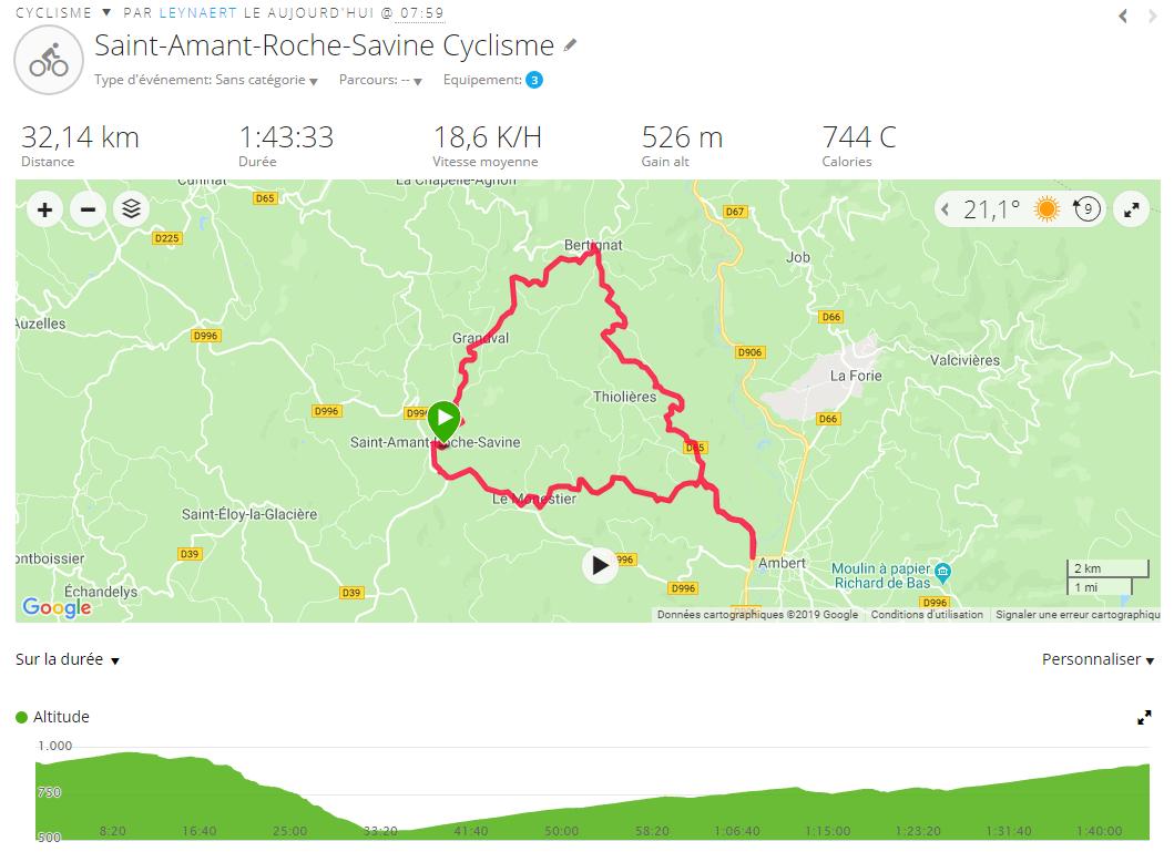 Le 6 juillet, est prévu une petite sortie de 32 kms avant la cyclo officielle