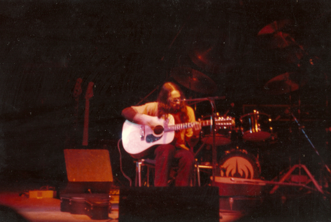 Première partie de Magma en 79 - notez le look baba / Opening for Magma, 1979 - I was a kind of hippie