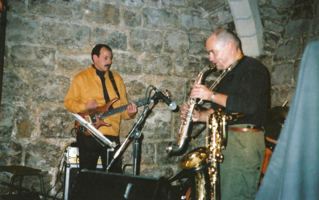 Frangloband  1999, with Pierre Olivier Govin