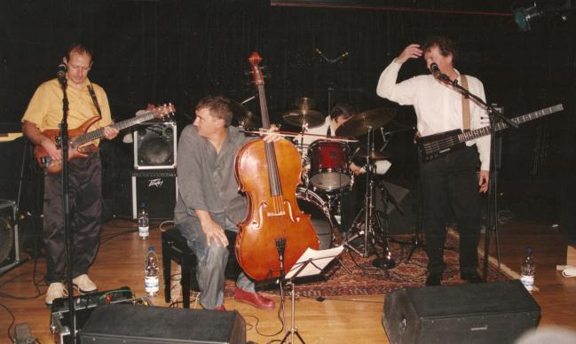 Triton, Paris, John Greaves Trio guests Vincent Courtois