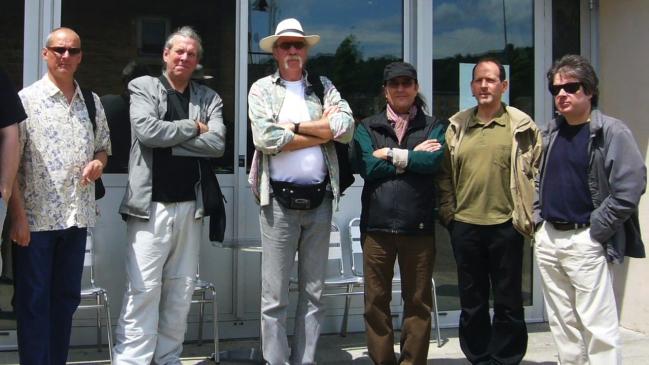 Canterbury Legends 2008: Alex Maguire, Phil Miller, Hugh Hopper, Didier Malherbe, Patrice Meyer, Manuel Denizet