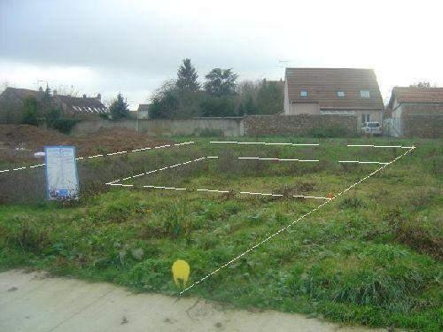 le terrain et l\'implantation de la maison (grossomodo)