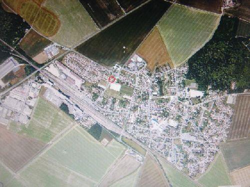 vue aérienne de Verneuil l'étang