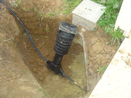 installation du compteur d\'eau pour le lancement du chantier