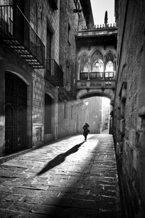 une-photographie-artistique-en-noir-et-blanc-la-venezia-Venise-pont-femme-sylhouette.jpg