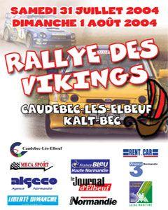 Affiche Rallye Viking 2004