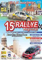 Affiche rallye de Boulogne 2005