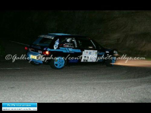 Clio Finale Coupe de France des rallyes  en Corse 2005