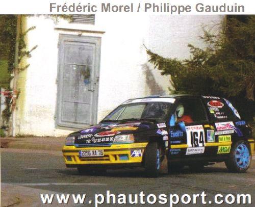 Clio Rallye de Boulogne/Mer 2004 par Ph\' Autosport